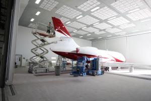 Elliott Aviation Aircraft Paint Refurbishment