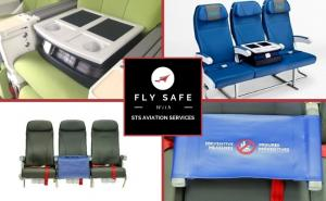 STS Aviation Middle Seat Insets