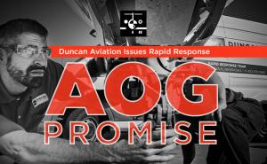 Duncan Aviation AOG Promise