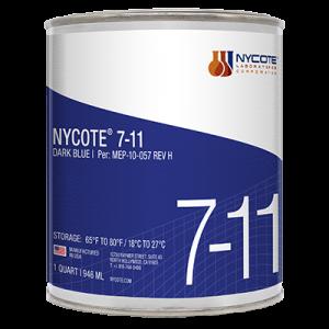 Nycote Laboratories 7-11 Dark Blue