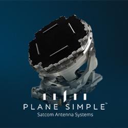 Satcom Direct Plane Simple Ku Antenna System