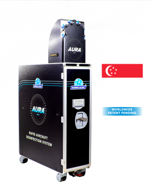 Sureclean AURA Aircraft Disinfection System