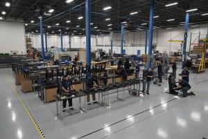 East/West Industries Crashworthy Seats