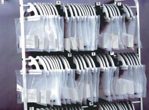 Monaco Hangup Bags Deluxe Wall Rack