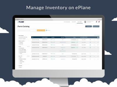 Manage Inventory on ePlane
