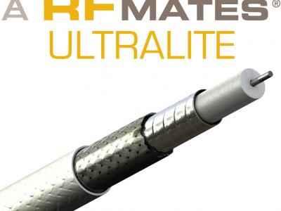 RFMATES ULTRALITE: Light, Flexible 50 Ohm Cables