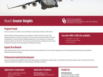 University of Oklahoma 100% Online Certificate